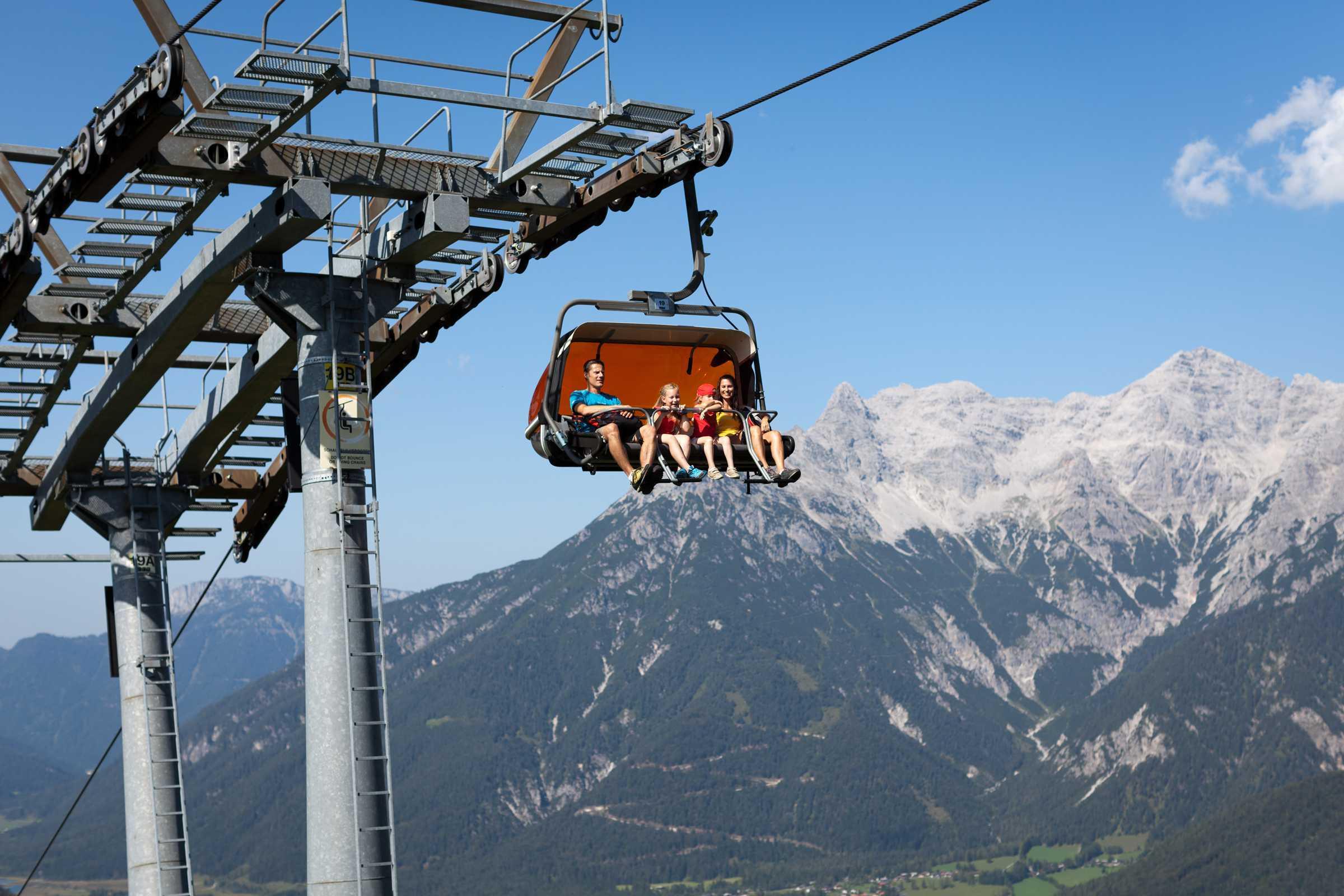 Bergbahnen im Pillerseetal