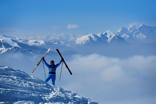 Freeriden in Tirol Winterfans
