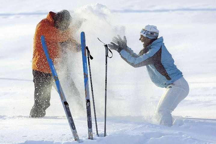 Steinplatte Waidring Skifahren im Pillerseetal